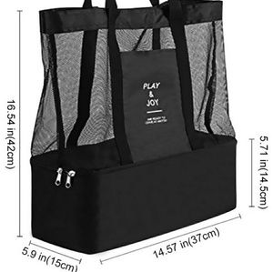 Multifunction Beach Bag Cooler Tote, Accessories